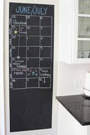 wall chalkboard calendar
