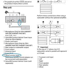 pioneer fh x731bt wiring harness diagram pioneer best pioneer wired remote units wired remote pioneer w r and on pioneer fh x731bt wiring harness