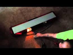 whelen edge 9004 sl strobe lightbar in operation whelen edge 9004 sl strobe lightbar in operation