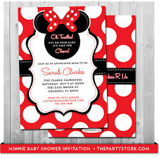 baby shower invitations outstanding diy minnie mouse baby shower invitations ideas as an extra ideas