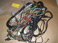 car wiring looms for land rover genuine land rover main wiring harness rhd military series iii 109 p no prc1358