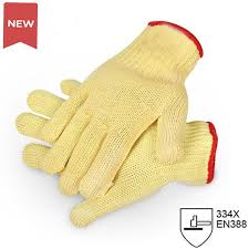 <b>NMSafety</b> Brand New Yellow <b>Working Protective Safety Gloves</b> Cut ...