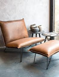 leather chair with footstool leather lounge chair earl with foot stool leather reclining chair and footstool