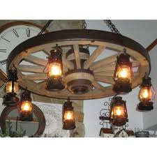 wagon wheel chandelier large parts to make