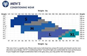 mens to womens size chart cw x size charts cw x conditioning wear australia