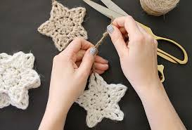 Crochet Star Pattern Free Beauteous Crochet Stars Free Ornament Pattern Persia Lou