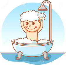 gallery of 51077316 boy take a bath doodle 15 clipart