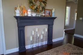 diy faux fireplace surround plans rogue engineer 3