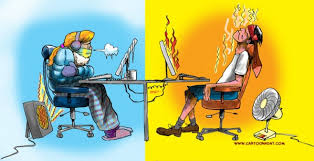 Hot office pic Fashion Hot And Cold Office Cartoon Day Hot And Cold Office Battle Over Climate Control Cartoon