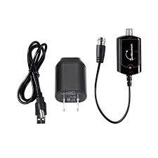 tv antenna amplifier. hdtv antenna amplifier indoor signal booster tv high gain channel boost tv