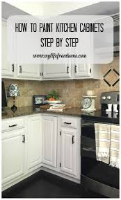 For A New Kitchen 17 Best Ideas About Repainted Kitchen Cabinets On Pinterest