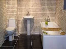 Bathrooms With Tile Samples Sink White
