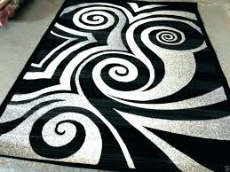 black and white area rugs 8x10 black white area rug white and gray rugs bedroom modern