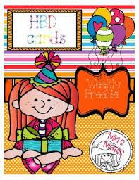 Teachers Birthday Card Happy Birthday Card Freebie