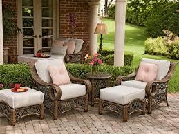 furniture modern woodard patio wicker furniture sets with white cushions woodard patio furniture barbados