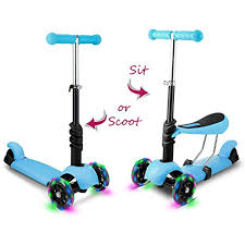 Jetson Saturn 3 Wheel Light Up Scooter Hikole Scooters For Kids 3 In 1 3 Wheels Toddlers Mini