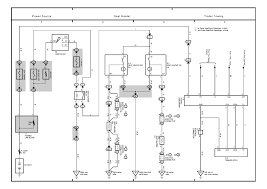 repair guides overall electrical wiring diagram (2004) overall 2005 Toyota Highlander Limited at 05 Highlander Hazard Wiring Diagram