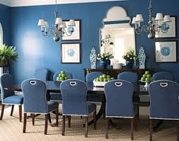 Chandeliers for dining rooms  The basic things when choosing  chandeliers  for dining rooms on blue wall color