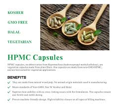 Details About Colored Size 1 Empty Vegetarian Hpmc Capsules Non Gmo X 10000 Fda Certified