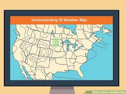 How To Read Surface Analysis Chart How To Read A Weather Map With Pictures Wikihow