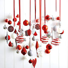 christmas decorating themes office. Office Christmas Decoration Heart Shaped Accessories Hanging For Decorating Cubicle Themes