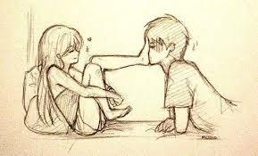 Cute Love Drawings Images Anime Love Cute Anime Love Anime