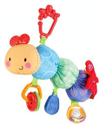 <b>Подвесная игрушка Fisher-Price</b> Гусеничка (W9911) — купить по ...