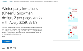 Party Invitation Template Word Free Free Invitation Template For Mac