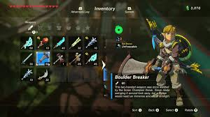 Zelda Breath Of The Wild Rare Weapon Armor Guide