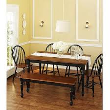 better homes and gardens dining table. Better Homes \u0026 Gardens Autumn Lane Farmhouse Dining Table And O