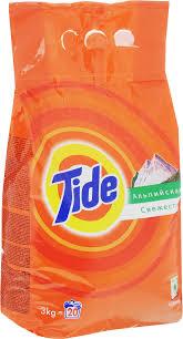 """<b>Стиральный порошок Tide</b> """"<b>Альпийская</b> свежесть"""", автомат, 3 кг ..."""