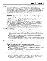 Technical Architect Resume Sample Resume Online Builder