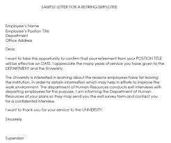 retirment letter retirement letter samples 9 formats retirement letter writing guide