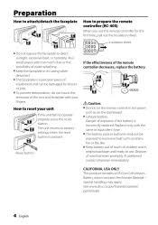 kdc x395 faceplate kenwood instruction manual