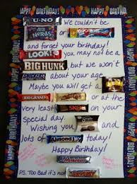 bda08dd1a98e764c2969e8175b birthday candy bar birthday ts