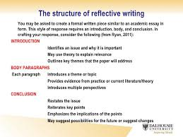 critical reflection essay definition how to write a reflective essay slideshare