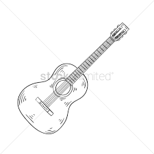 Acoustic Guitar Vector Image 2029064 Stockunlimited