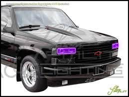 Tahoe 99 chevy tahoe parts : Oracle 95-00 Chevrolet Tahoe LED ColorSHIFT Halo Rings Headlights ...