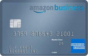 amazon business credit card american