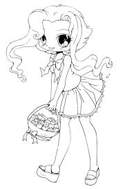 Coloring Pages Cute Chibi Coloring Pages Free For Kids