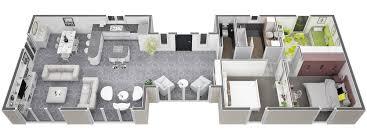 Mod Le De Plans De Villa De Construction Traditionnelle De Plein Plan Dune Maison Plein Pied De 100m2