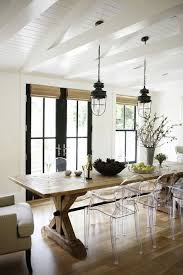 farmhouse dining room sets with bench the modern farmhouse 12 style trends