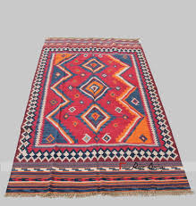 indian handwoven multicolor cotton yoga carpet rugs