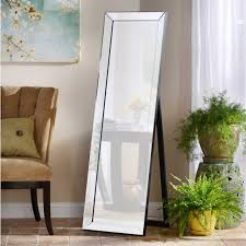 silver floor mirror. 41 Most Outstanding Tall Floor Mirror Giant White Standing Silver Length With Lights Artistry 3