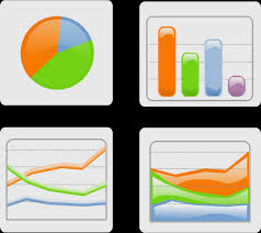 Clip Art Charts And Graphs Charts Pie Chart Histogram Curve Graph Vector Free