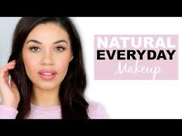simple natural everyday makeup tutorial how to makeup for or work eman