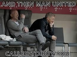 Meme: The Mirror publishes a Schweinsteiger to Manchester United ... via Relatably.com
