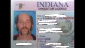 License 13wmaz Crazy Pic Viral Man's Indiana Goes com Driver's