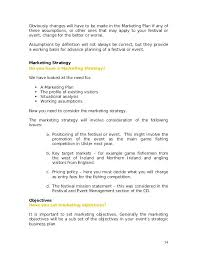 Sample Event Planning Template Promotion Marketing Plan Example Pdf ...