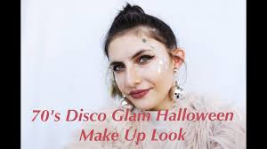 70s disco glam make up look
